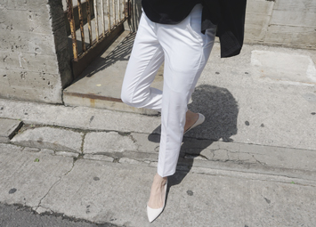 White slacks, pants - HIT♥